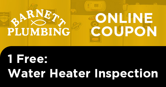 Free Water Heater Inspection Coupon Livermore
